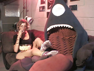 First Alien Clips4sale video: La Vore Girl makes First Contact!