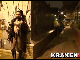 Public Nudity Bdsm Outdoor video: Cleo Gold in exclusive public submission scene in Krakenhot