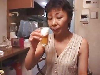 Japanese Grannies Creampie video: jp grannies milf creampie