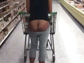 Black And Ebony Public Nudity All Out video: Shopping Ass All Out