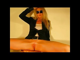 Blondes Masturbation Squirting video: Janine Nasty Wet Game by CrazyCezar