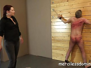 Femdom Spanking Whipping video: Merciless Whipping by Goddess Sophia