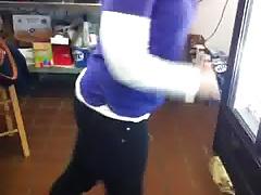 Buttcrack of a hot store worker vine!!!