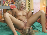 Scarlet Red licking Tiffany Watson's pussy