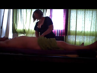 milf wife spycam massage bj with awesome cum in mouth CIM