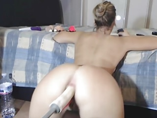 Anal Gaping video: Multiple Anal Orgasms For Machine Fucked PAWG