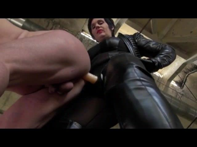 Mature Mistress fucks Male Pig by CrazyCezar