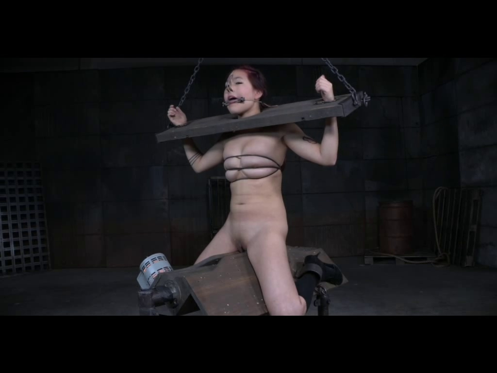 Asian teen in dungeon 2