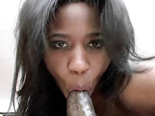 Streaming movie - Black MILF Jade Nicole is getting her ebony twat stuffed