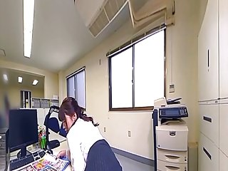 Blowjobs Fingering Japanese video: Office Power Harassment