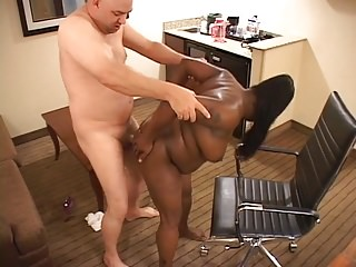 Black And Ebony Milfs Interracial video: Big Tit Bubble Butt Anal Ebony MILF