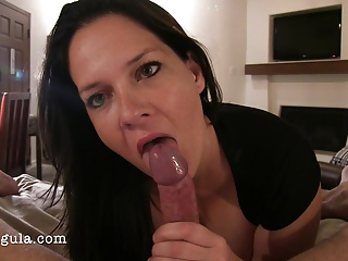 Passionate Anal Ends With A Facial And Cum Eating-Amateur