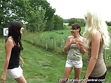 Bex, Debz & Charlotte play Strip Fight