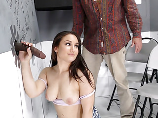 Anal Hairy video: Gabriella Paltrova Prepares for Anal - Gloryhole
