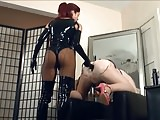 Dominatrix anal queen