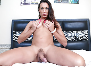 Big Tits Shemale Bareback Shemale Shemale Fucks Guy Shemale video: Hung Shemale Anna fucks a latino guy's ass