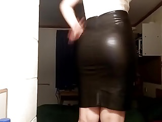 Skirt,Spandex,Pencil,Hd Videos,Try On