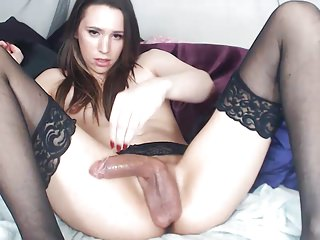 Amateur Shemale Teens  Shemale Big Cocks Shemale video: sexy tgirl babe big cock cumshot
