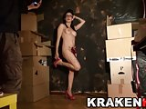 Krakenhot Casting with a hot brunette young girl. Part 1