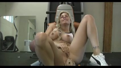 blonde anal: webcam blonde masturbates anal
