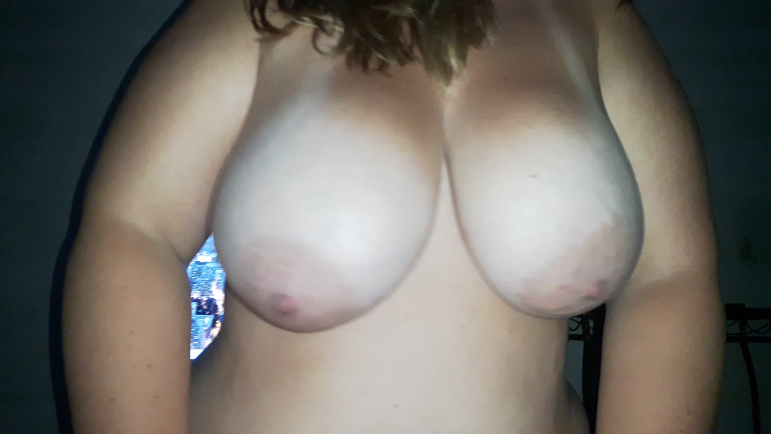 Bbw my girl big tits.