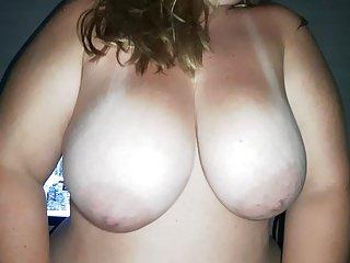 Bbw my girl big tits.