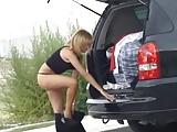 Krakenhot - Voyeur video of milf secretary public undressing
