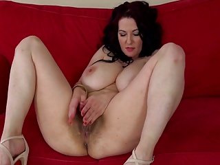 Hairy Busty Hairy Big Boobs video: Busty hairy Polish cougar