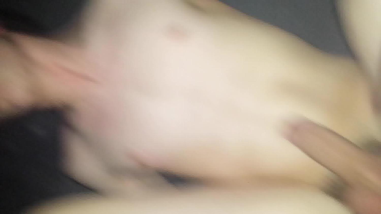 Fucking an 18 year old twink bareback in my work van
