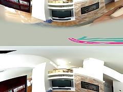 SexLikeReal- Abella Danger Undresses VR360 30 FPS
