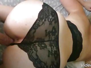 Cumshots Anal Stockings vid: Un tres bon moment avec ma femme partager avec vous