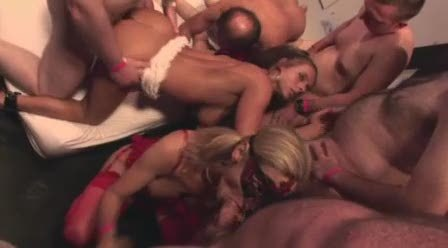 Hard Gangbang Party Part 2 - by TLH
