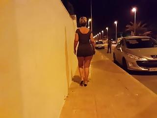 Voyeur Hd Videos Tight Dress video: upskirt walking in tight dress 01