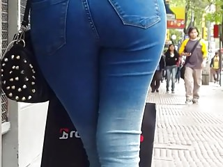 Tight jeans sexy hot girl candid