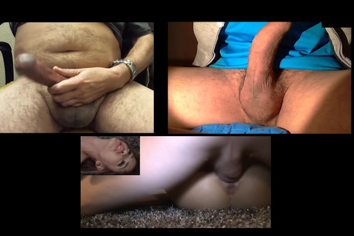 C2C with str8 married man buddy jerking.