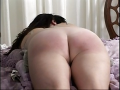 Two girls spanked by their boyfriends
