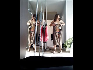 Big Boobs Bbw Voyeur video: In the Mirror XxX
