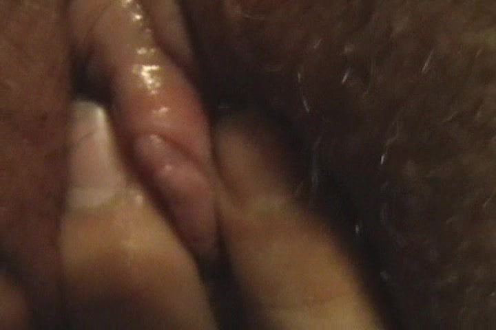 BBW pussy and clit extreme close-up