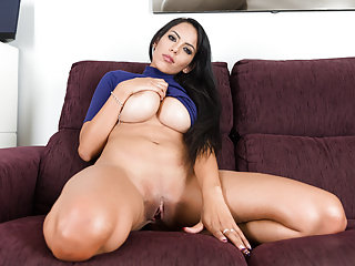 Big Boobs Big Butts Spanish video: Busty sister Katrina Moreno with amazing body on Virtual Taboo