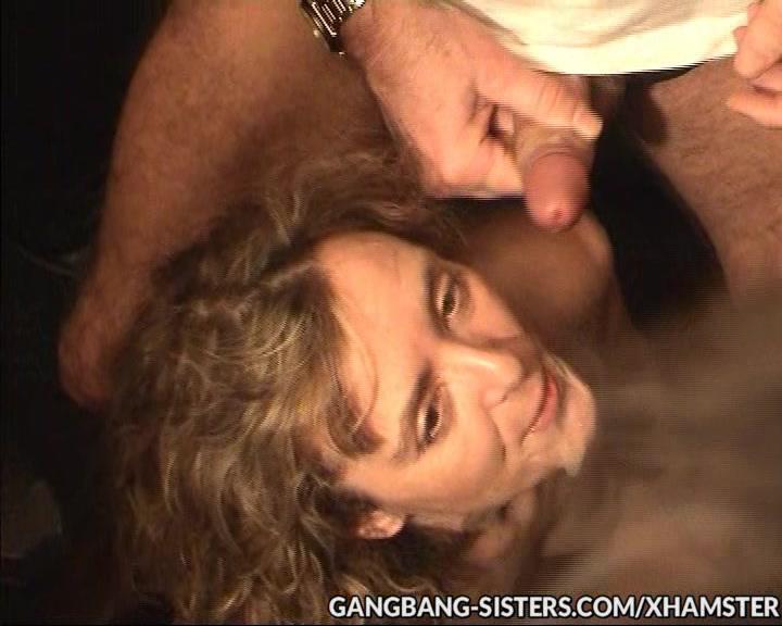 Blonde slim gangbang hottie doing private sex parties