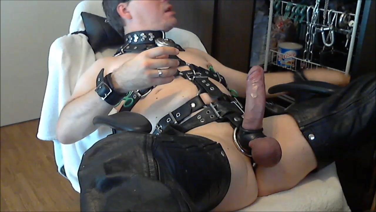 leder titten melk sklaven sau - leather slave pig cock slut