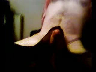 Amateur British video: me+another scottish ex gf both in tights foot fun 6