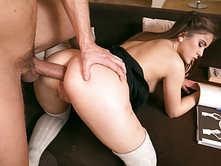 Teens Anal Hardcore video: Private.com - Evelina Darling Debuts For Private