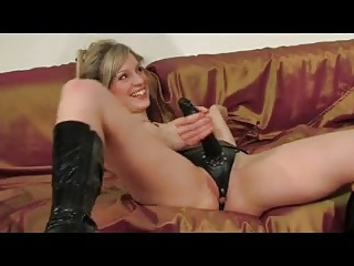 Strapon Femdom video: Strapon Russian Mistress