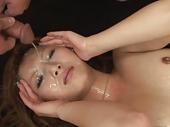 Asian anal-facial-creampie