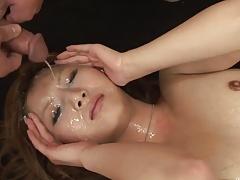 Asian anal-facial-creampie