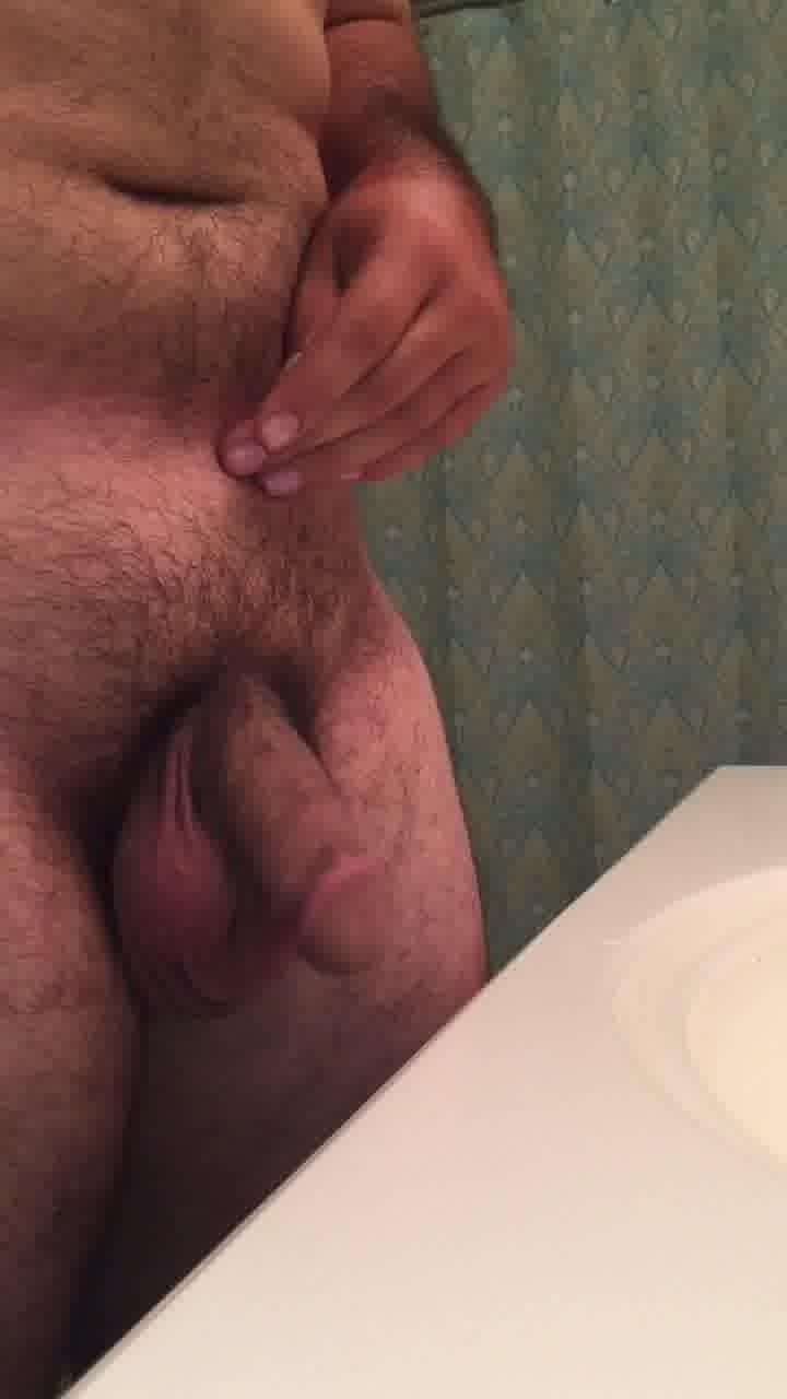 Me naked close up of my soft dick
