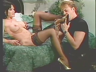 Femdom Foot Fetish xxx: erotic vintage mature domina
