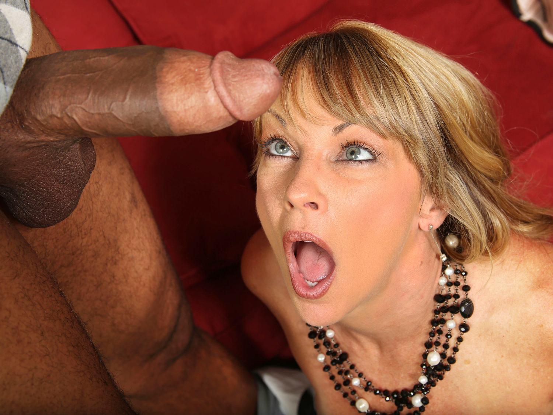chaude prend noire queue: hot cougar shayla laveaux takes black cock
