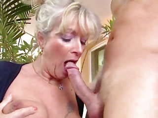 Oldyoung Big Boobs Grannies video: Busty Granny Takes Young Dick